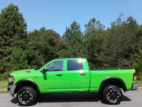Hills Green Ram 2500 Tradesman Crew Cab 4x4 Power Wagon Package.  Click to enlarge.