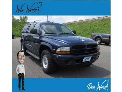 Black Dodge Durango SLT 4x4.  Click to enlarge.