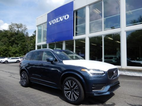 Denim Blue Metallic Volvo XC90 T6 AWD Momentum.  Click to enlarge.