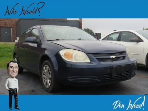 Imperial Blue Metallic Chevrolet Cobalt LT Sedan.  Click to enlarge.