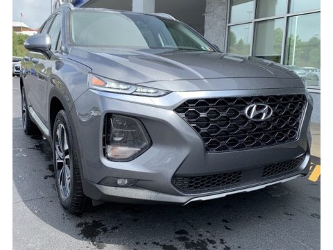 Machine Gray Hyundai Santa Fe SEL 2.0 AWD.  Click to enlarge.