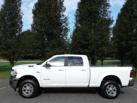 Bright White Ram 2500 Laramie Crew Cab 4x4.  Click to enlarge.