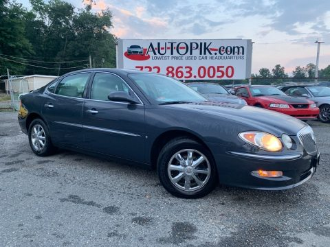 Midnight Blue Metallic Buick LaCrosse CX.  Click to enlarge.