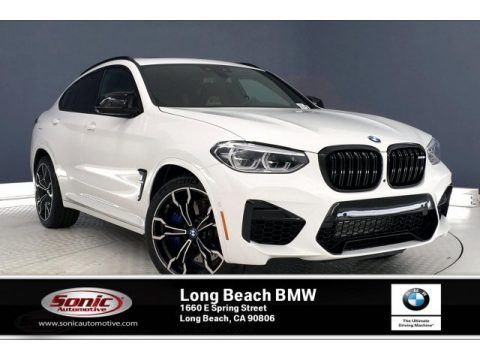 Alpine White BMW X4 M Competition.  Click to enlarge.