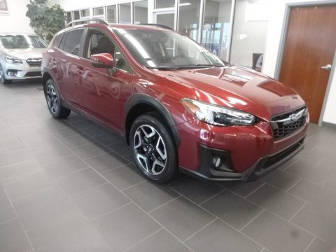 Venetian Red Pearl Subaru Crosstrek 2.0i Limited.  Click to enlarge.