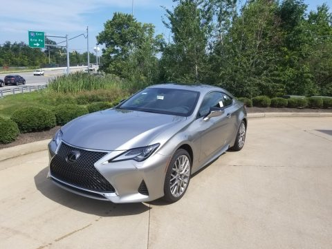 Atomic Silver Lexus RC 300 AWD.  Click to enlarge.