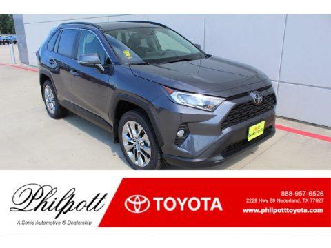 Magnetic Gray Metallic Toyota RAV4 XLE.  Click to enlarge.