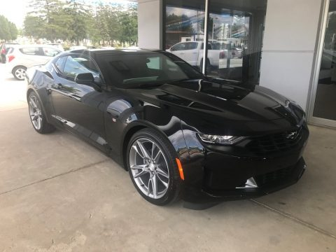 Black Chevrolet Camaro LT Coupe.  Click to enlarge.