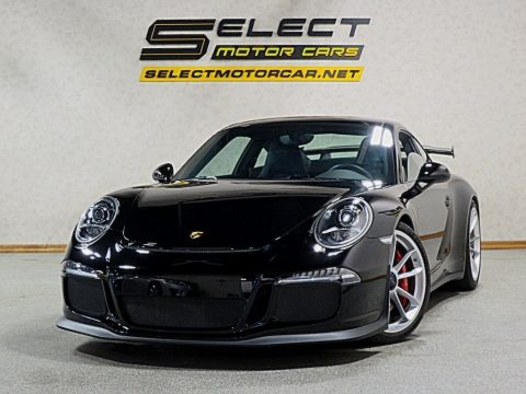 Black Porsche 911 GT3.  Click to enlarge.
