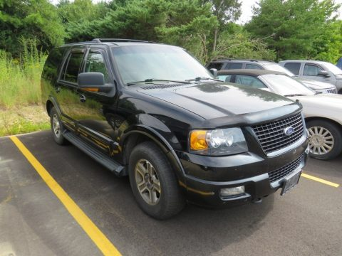 Black Ford Expedition Eddie Bauer 4x4.  Click to enlarge.