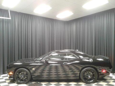 Pitch Black Dodge Challenger 1320.  Click to enlarge.