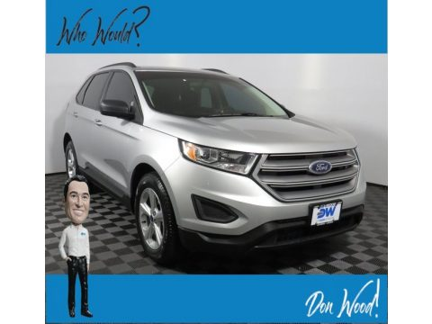 Ingot Silver Metallic Ford Edge SE AWD.  Click to enlarge.