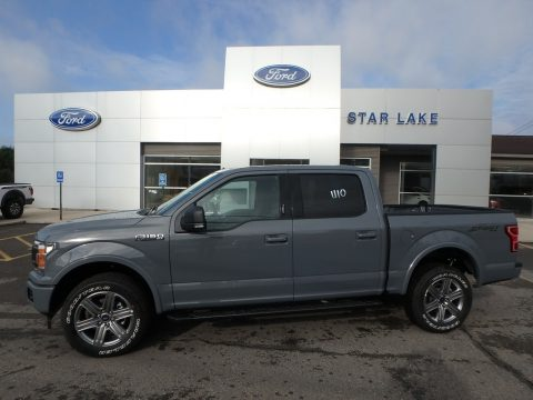 Abyss Gray Ford F150 XLT SuperCrew 4x4.  Click to enlarge.