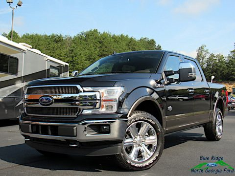 Agate Black Ford F150 King Ranch SuperCrew 4x4.  Click to enlarge.