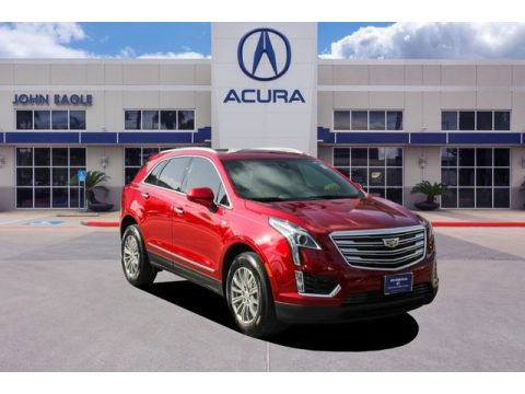 Red Horizon Tintcoat Cadillac XT5 Luxury.  Click to enlarge.