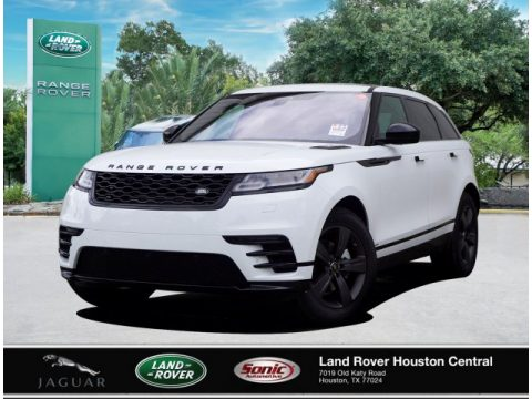 Fuji White Land Rover Range Rover Velar R-Dynamic S.  Click to enlarge.