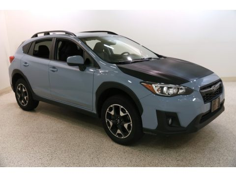 Cool Gray Khaki Subaru Crosstrek 2.0i Premium.  Click to enlarge.