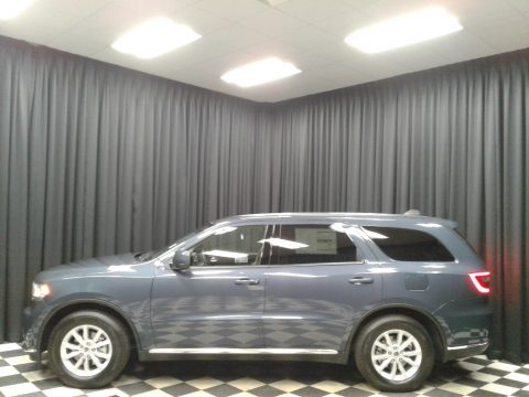 Reactor Blue Pearl Dodge Durango SXT.  Click to enlarge.