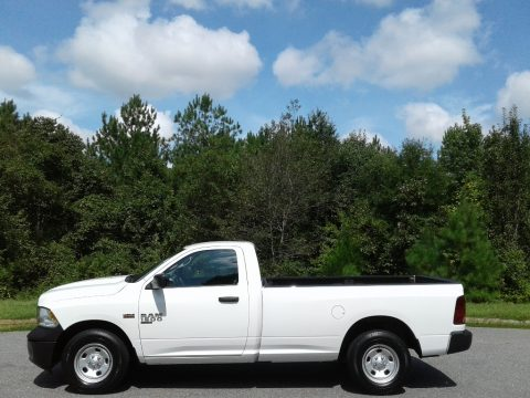 Bright White Ram 1500 Classic Tradesman Regular Cab.  Click to enlarge.