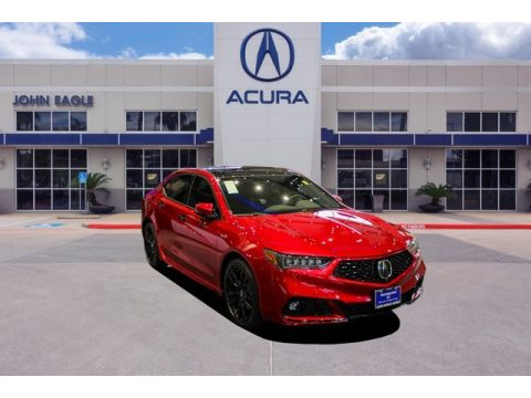 Valencia Red Pearl Acura TLX PMC Edition SH-AWD Sedan.  Click to enlarge.