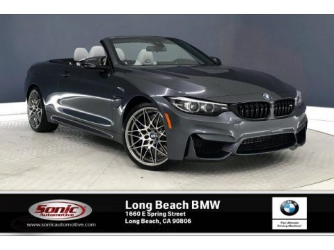 Mineral Grey Metallic BMW M4 Convertible.  Click to enlarge.
