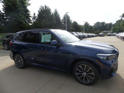 Phytonic Blue Metallic BMW X5 xDrive40i.  Click to enlarge.