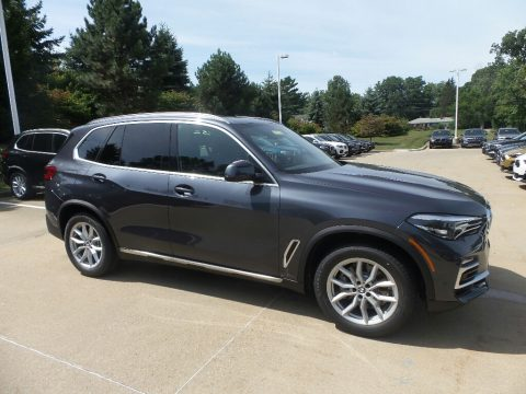 Arctic Grey Metallic BMW X5 xDrive40i.  Click to enlarge.