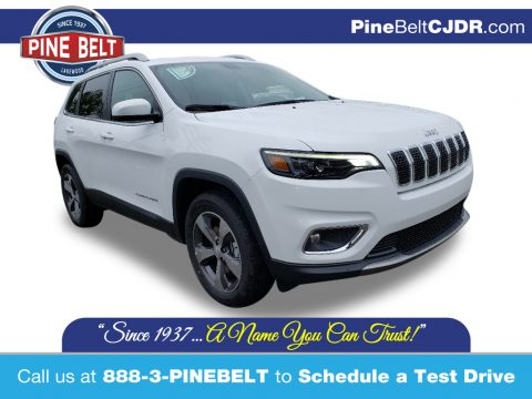 Bright White Jeep Cherokee Limited 4x4.  Click to enlarge.