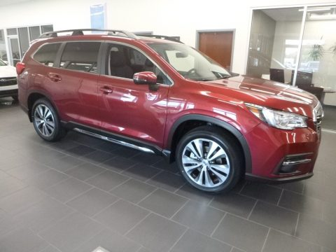 Crimson Red Pearl Subaru Ascent Limited.  Click to enlarge.