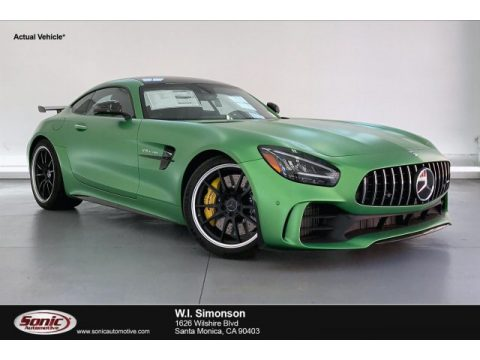 AMG Green Hell Magno (Matte) Mercedes-Benz AMG GT R Coupe.  Click to enlarge.