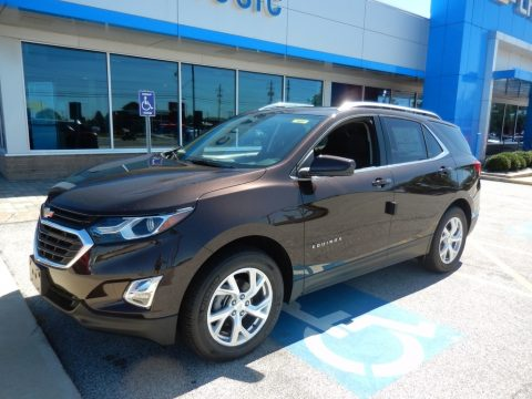 Chocolate Metallic Chevrolet Equinox LT AWD.  Click to enlarge.