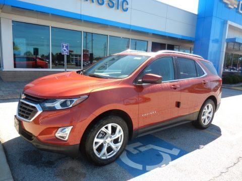 Cayenne Orange Metallic Chevrolet Equinox LT.  Click to enlarge.