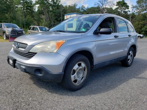 Whistler Silver Metallic Honda CR-V LX 4WD.  Click to enlarge.