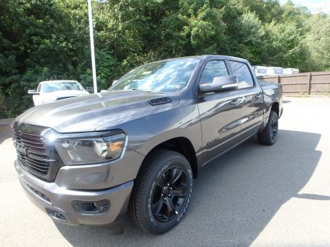 Granite Crystal Metallic Ram 1500 Big Horn Night Edition Crew Cab 4x4.  Click to enlarge.