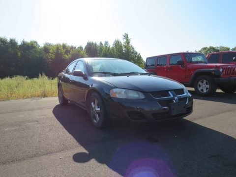 Brilliant Black Dodge Stratus SXT Sedan.  Click to enlarge.