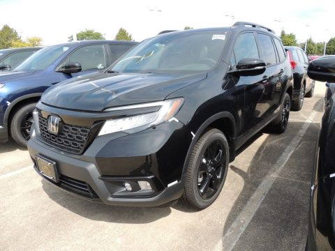 Crystal Black Pearl Honda Passport Elite AWD.  Click to enlarge.