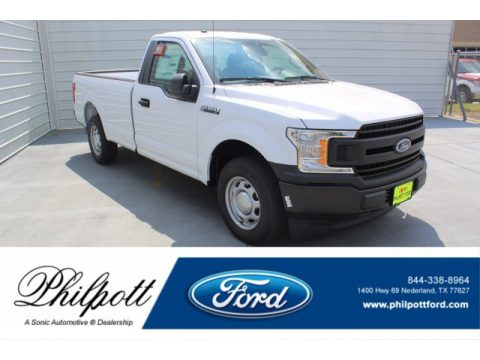 Oxford White Ford F150 XL Regular Cab.  Click to enlarge.