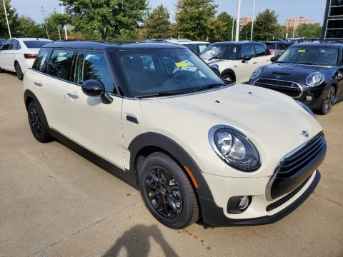 Pepper White Mini Clubman Cooper.  Click to enlarge.