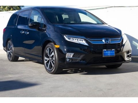 Crystal Black Pearl Honda Odyssey Elite.  Click to enlarge.