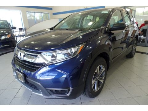 Obsidian Blue Pearl Honda CR-V LX AWD.  Click to enlarge.