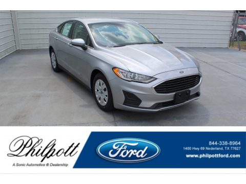 Iconic Silver Ford Fusion S.  Click to enlarge.
