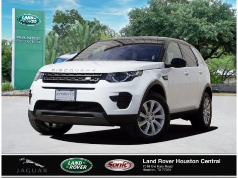 Fuji White Land Rover Discovery Sport SE.  Click to enlarge.