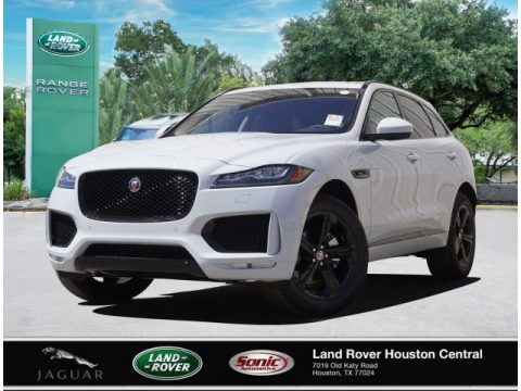 Yulong White Metallic Jaguar F-PACE 25t Checkered Flag Edition.  Click to enlarge.