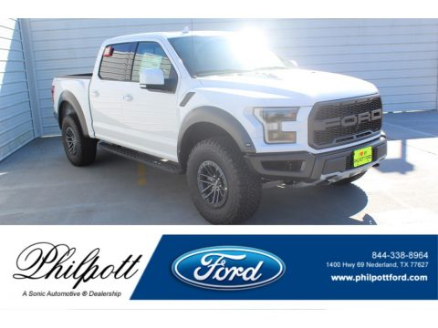 Oxford White Ford F150 SVT Raptor SuperCrew 4x4.  Click to enlarge.