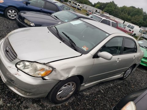 Lunar Mist Silver Metallic Toyota Corolla S.  Click to enlarge.
