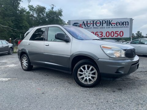 Platinum Metallic Buick Rendezvous CXL.  Click to enlarge.