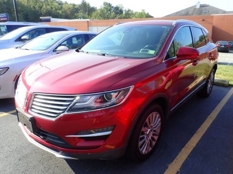 Ruby Red Lincoln MKC Reserve AWD.  Click to enlarge.