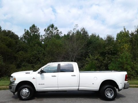 Bright White Ram 3500 Big Horn Crew Cab 4x4.  Click to enlarge.