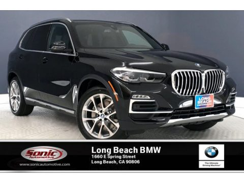 Jet Black BMW X5 sDrive40i.  Click to enlarge.