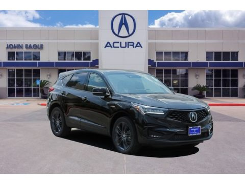 Majestic Black Pearl Acura RDX A-Spec.  Click to enlarge.